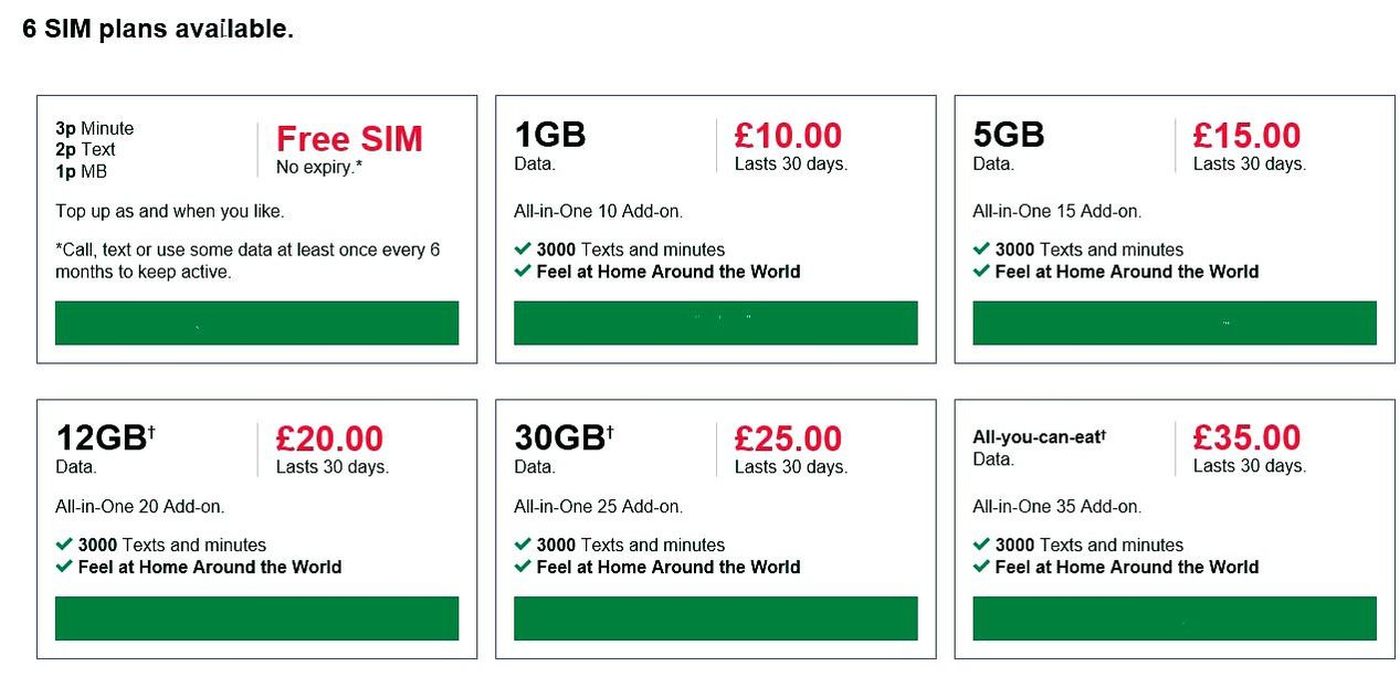 Pay as you go free sims - All Sim cards with commission
